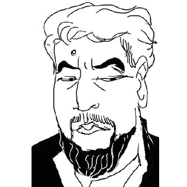 可爱的老爸简笔画