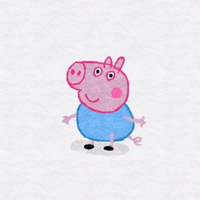 农场里的小花猪