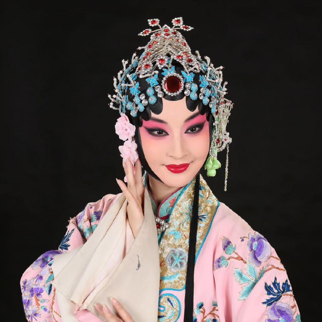 京剧动漫手绘半面