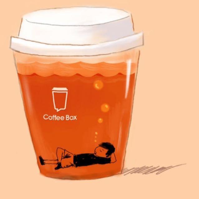 咖啡画图案教程
