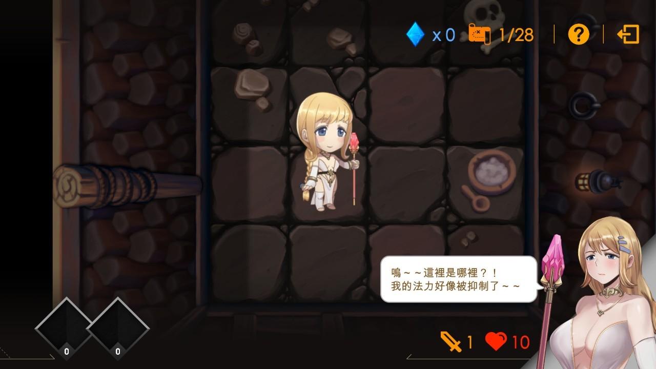 超大CG成人新作《莎莉丝地牢脱出》Steam上架,女王Play将免费更新插图(1)