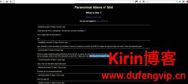 暗网传说:被封锁的外星生物科技