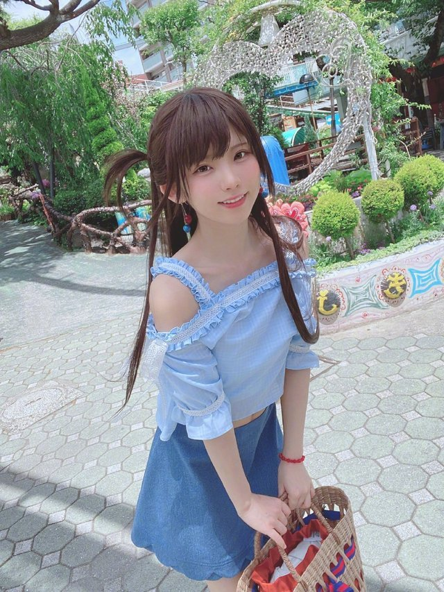 "人气COSER""enako""《租借女友》水原千鹤COS- ACG17.COM"