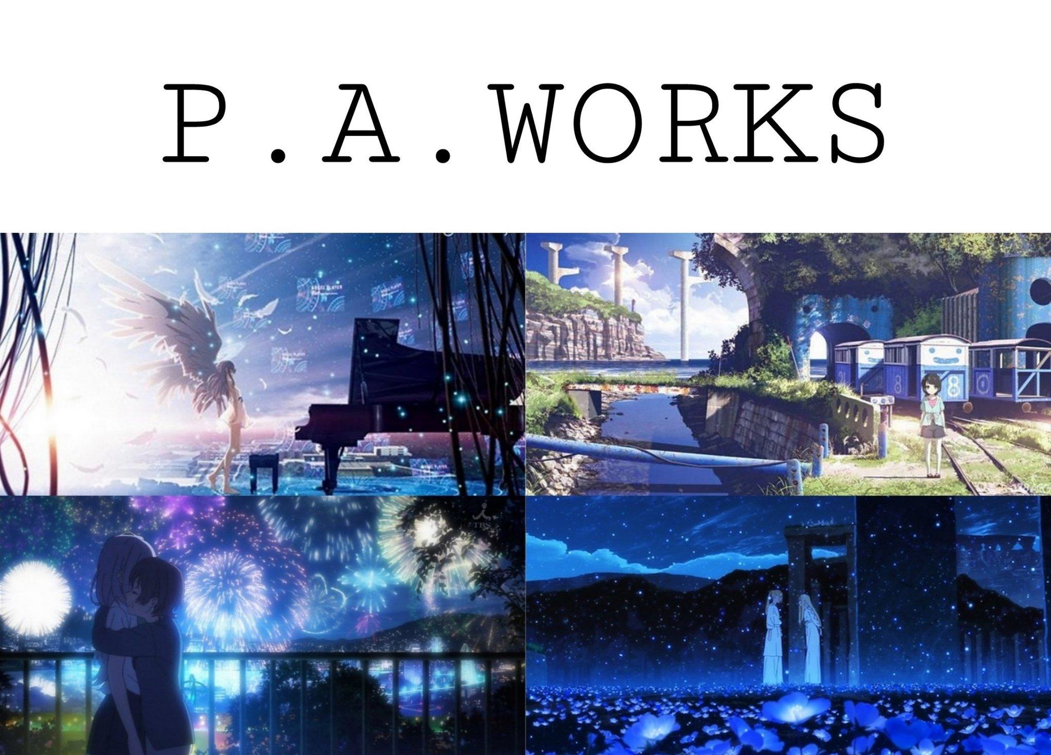 P.A.WORKS 美术背景