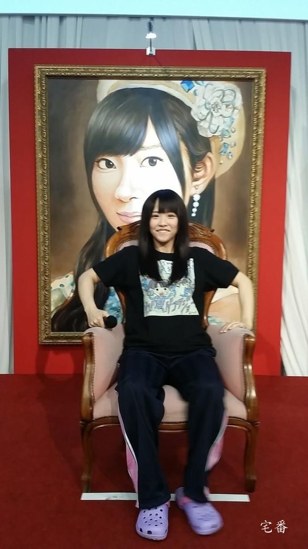 SKE48最年长研究生松村香织给人印象就是一个奇