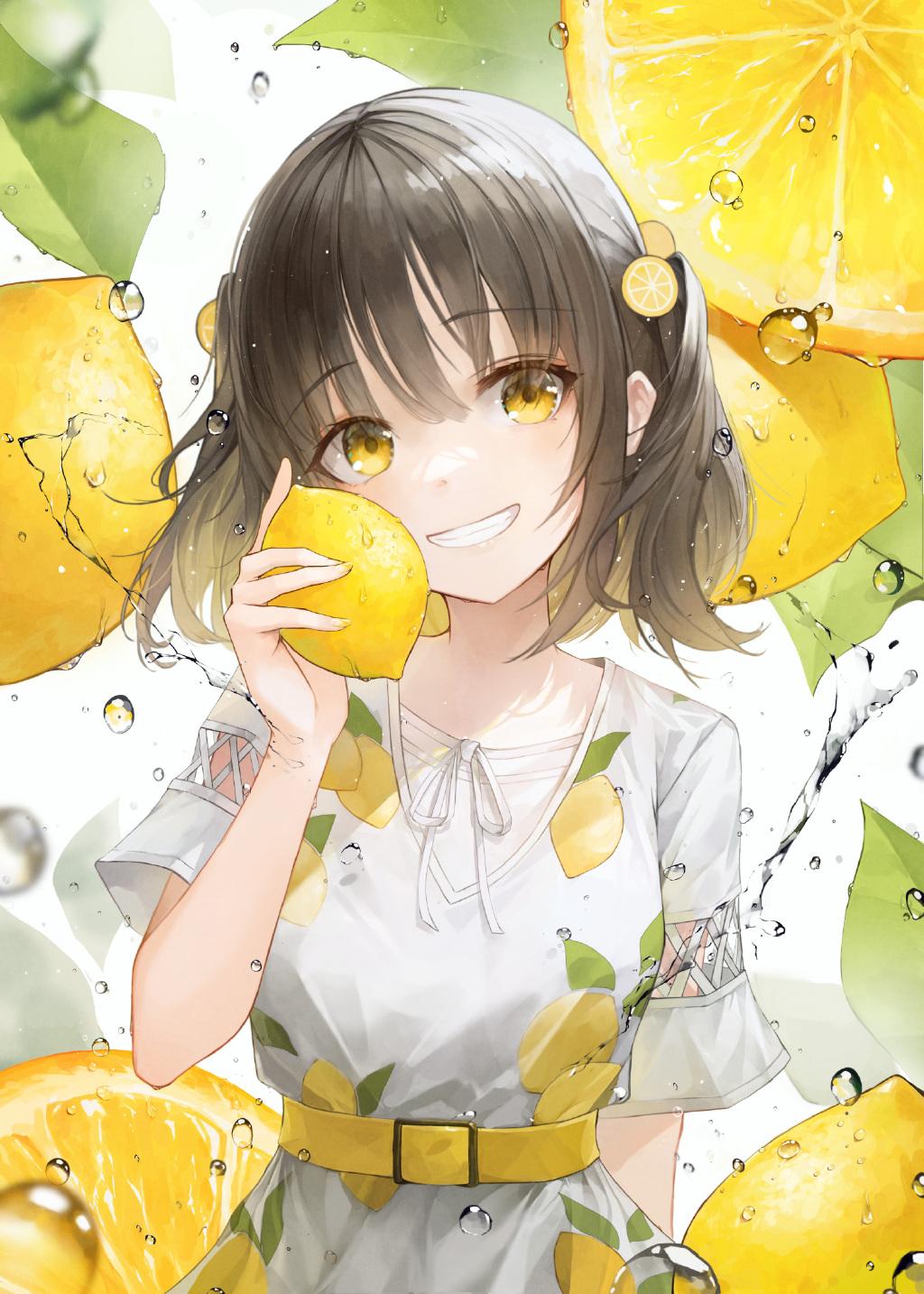 【P站画师】香甜水果少女!韩国画师CrystalHerb的最新插画作品- DIMTOWN.COM
