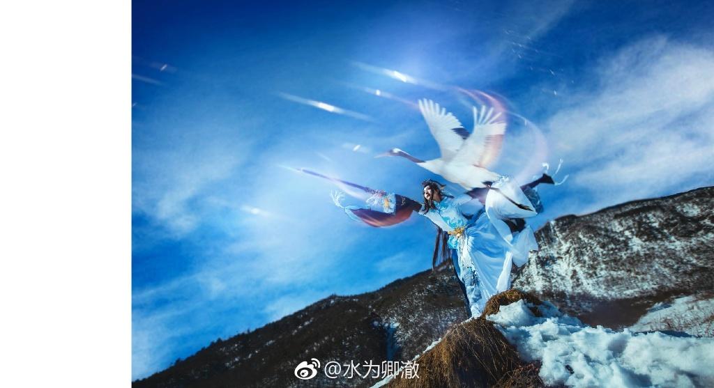 【cos正片】剑网三·纯阳·破虏道姑 cn:水为卿澈 cosplay-第5张