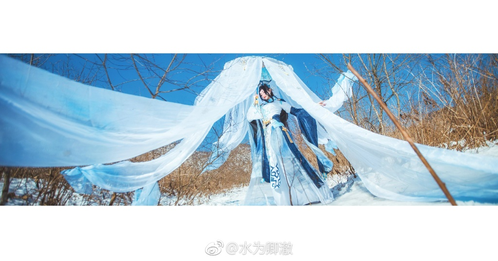 【cos正片】剑网三·纯阳·破虏道姑 cn:水为卿澈 cosplay-第4张