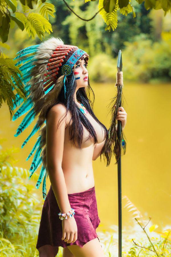 女酋长说天下得男人都是她得,她要挨个日个够