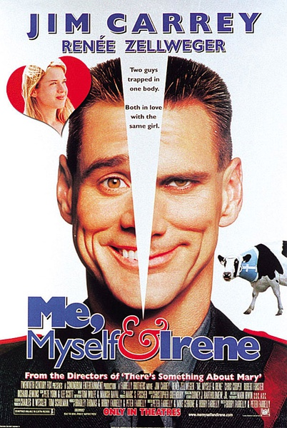一个头两个大 Me, Myself & Irene