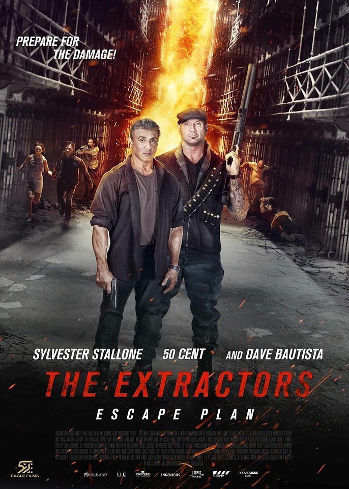 金蟬脫殼3:惡魔車站 Escape Plan: The Extractors
