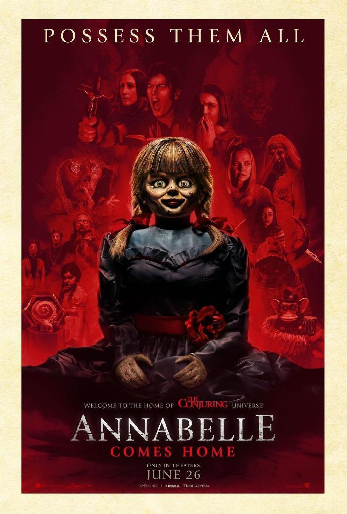 安娜贝尔3:回家 Annabelle Comes Home