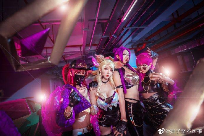 【cos正片】《KDA女团》帅气出道  cosplay欣赏 cosplay-第4张