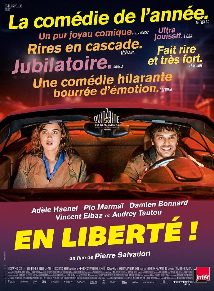 自由了! En liberté!