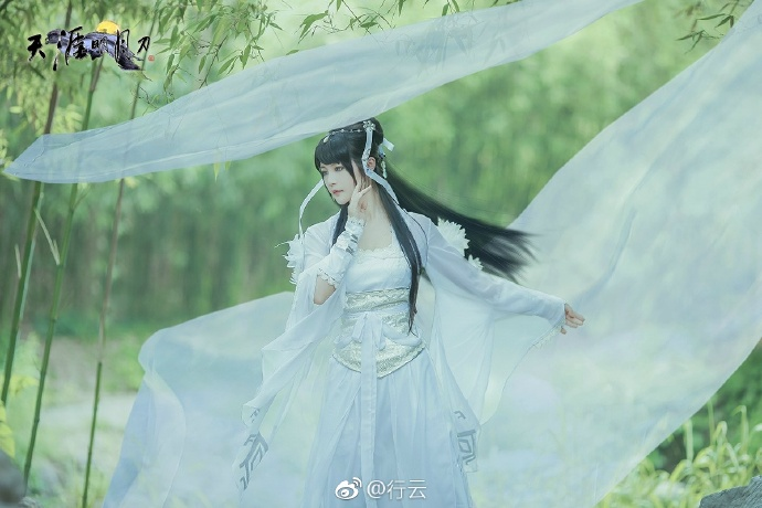 【cos正片】天涯明月刀OL---素问·太白-cos欣赏 cn:行云 cosplay-第5张