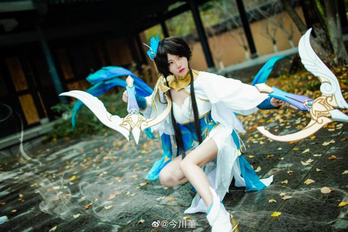 【cos正片】《王者荣耀》虞姬云霓雀翎 cosplay欣赏 cosplay-第4张