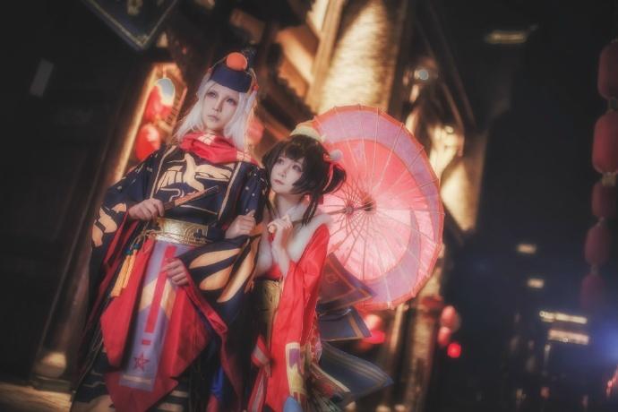 【cos正片】阴阳师手游 莺燕鸣樱cos欣赏 cn:yui金鱼 cosplay-第1张