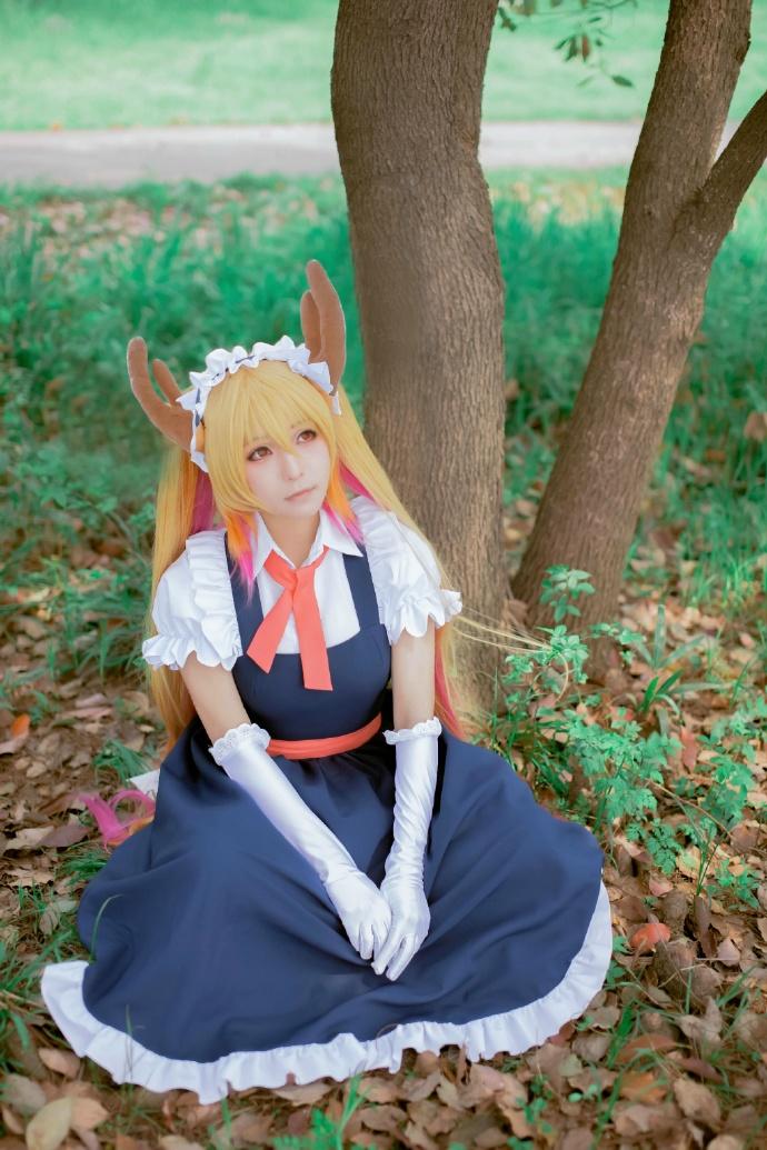 【cos正片】小林家的妹抖龙cos欣赏 cn:yui金鱼 cosplay-第5张