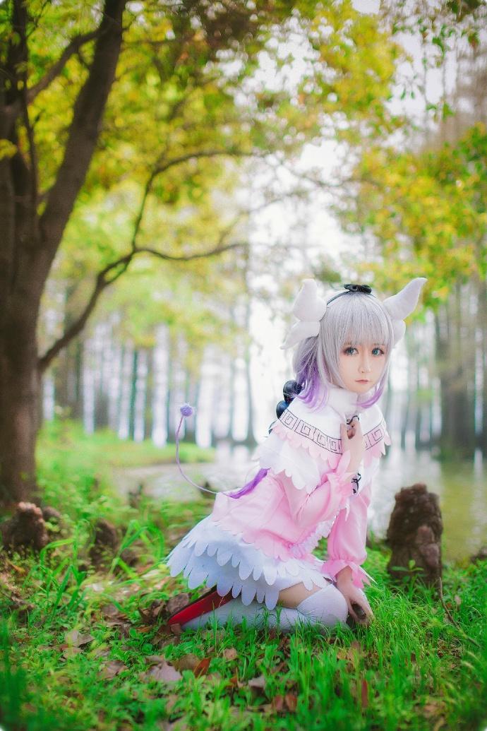 【cos正片】小林家的妹抖龙cos欣赏 cn:yui金鱼 cosplay-第9张