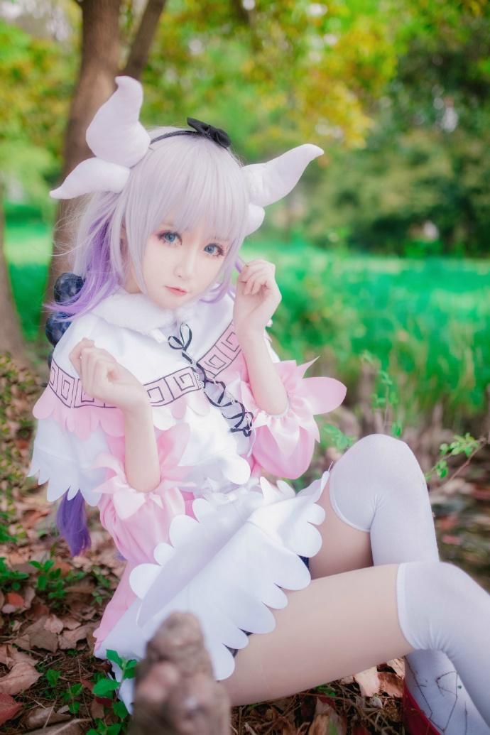 【cos正片】小林家的妹抖龙cos欣赏 cn:yui金鱼 cosplay-第4张