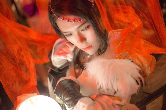 【cos正片】剑网3——藏剑·破虏二小姐 cn:寒殇 cosplay-第17张