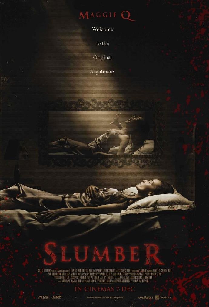 蛰伏 Slumber 【蓝光720p/1080p内嵌中英字幕】【2017】【恐怖】【英国/美国】