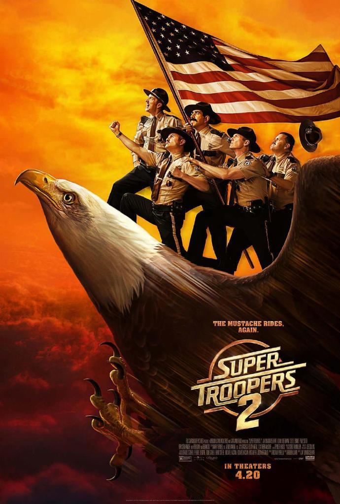 超级骑警2 Super Troopers 2 【蓝光720p/1080p内嵌中英字幕】【2018】【喜剧/悬疑/犯罪】【美国】