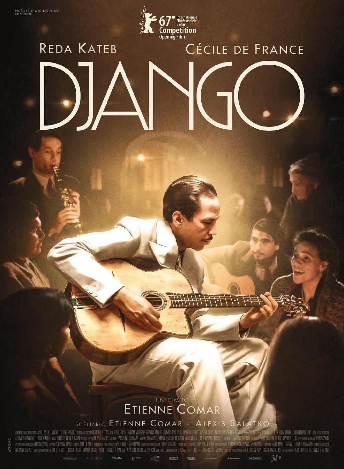 姜戈 Django 【蓝光1080p内嵌中文字幕】【2017】【音乐/传记】【法国】