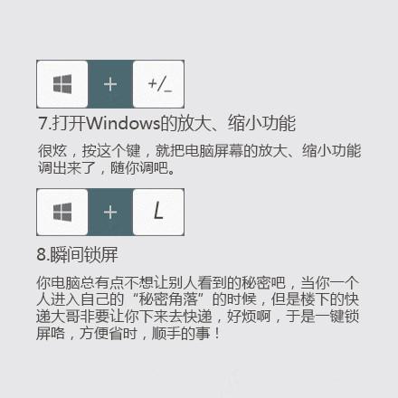 Windows常用快捷键分享,让你事半功倍图片 第4张