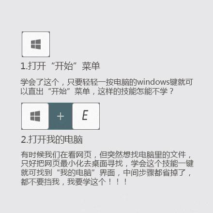 Windows常用快捷键分享,让你事半功倍图片 第1张