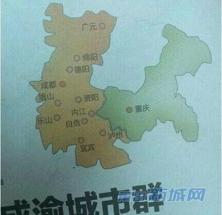 难怪重庆四川交界处总是有地震啊