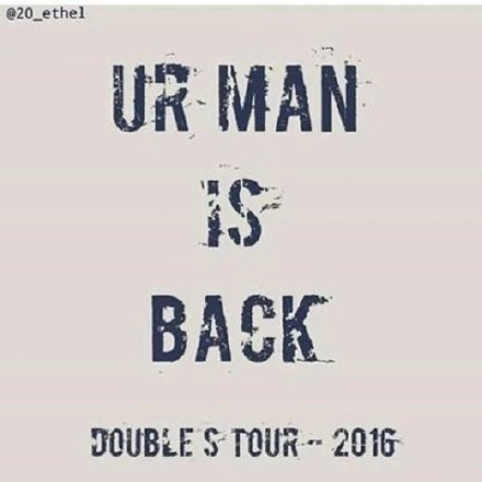 "SS501時隔2000日的迴歸預告""UR MAN IS BACK~"""