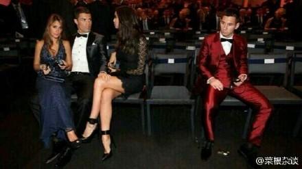 关于2013 FIFA金球奖的段子笑话 C罗 梅西