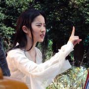 刘亦菲的老照片微博照片