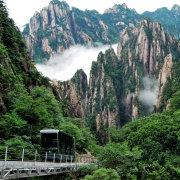 黄山西海大峡谷观光缆车微博照片
