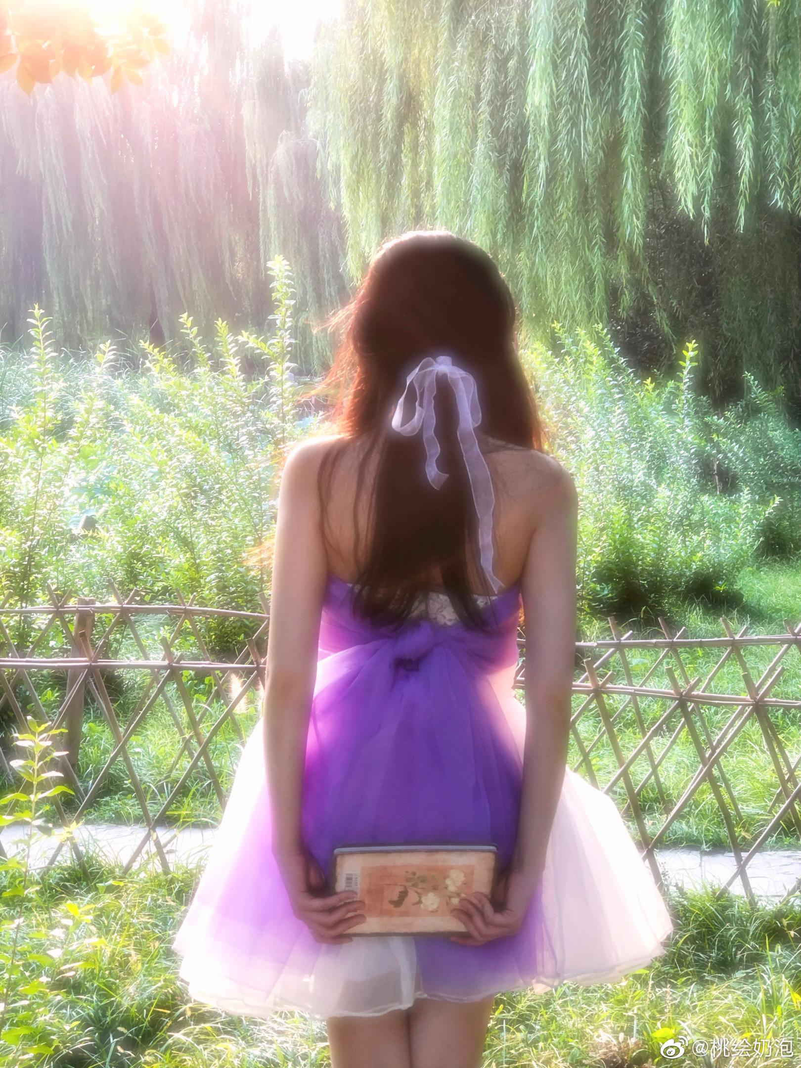 公主日记北京约拍客片花絮/夕阳落在你身上美女 公主日记 第1张