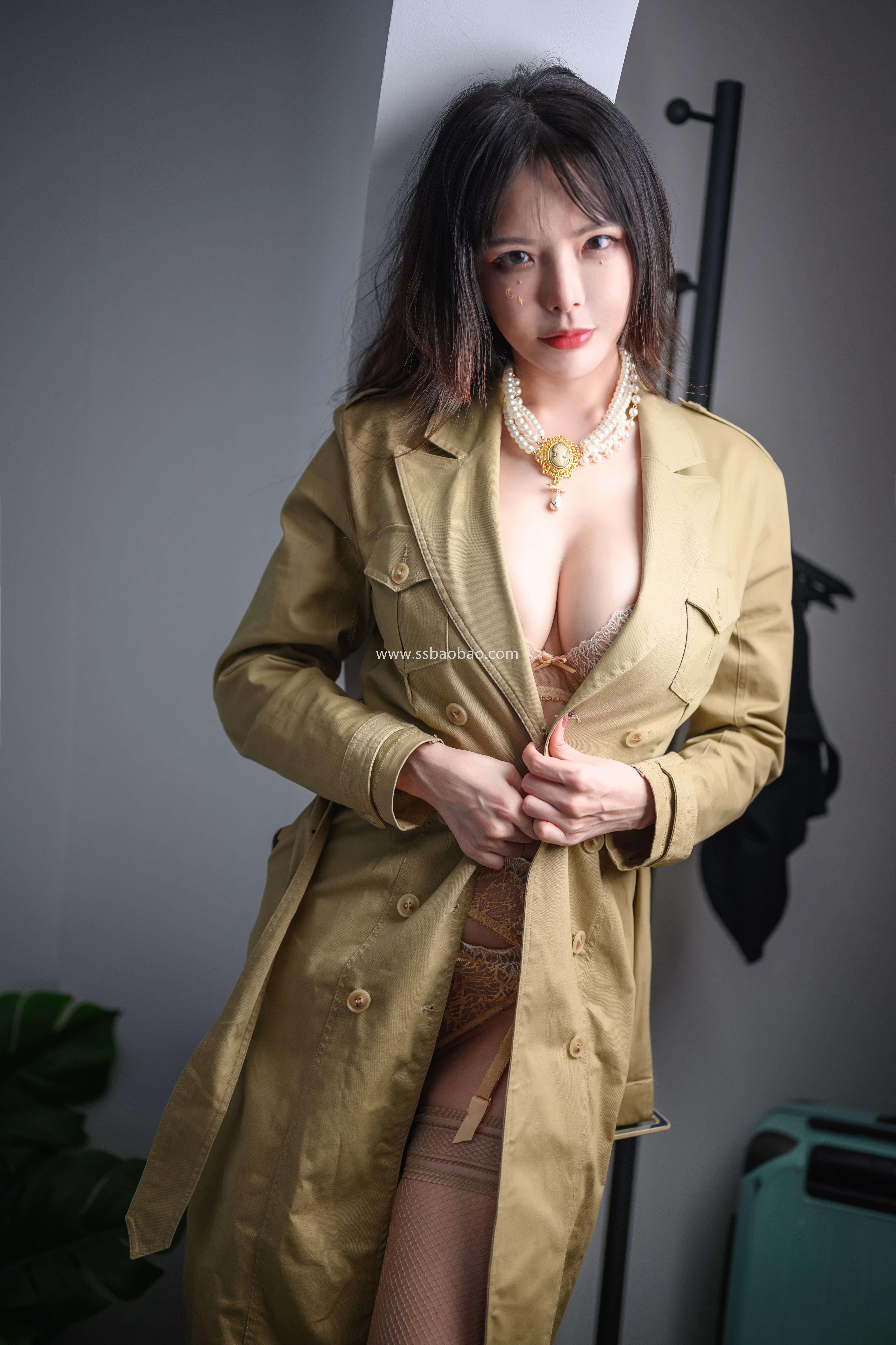 秋和柯基后期作品 H029 裸色蕾丝吊袜带套装[44P1V-1.18GB]05
