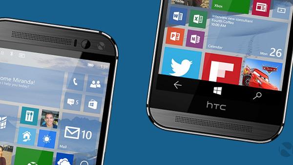 HTC正在和微软密切合作研发Windows 10智能手机的照片