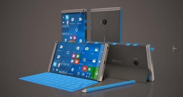 Surface Phone可能在明年秋季随Redstone3一起推出的照片