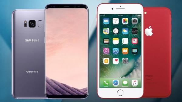 《消费者报告》:三星Galaxy S8优于苹果iPhone 7的照片