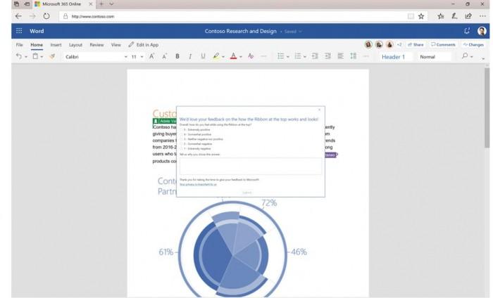 Office 365迎新UI:精简Ribbon功能区 强化搜索推荐的照片 - 2