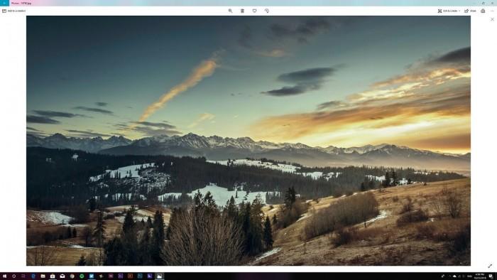 微软Photos查看器在Win10上有一个Iight主题的照片 - 2