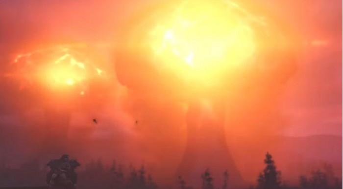 《辐射76》玩家同时引爆三枚核弹 随后服务器崩溃了的照片 - 1