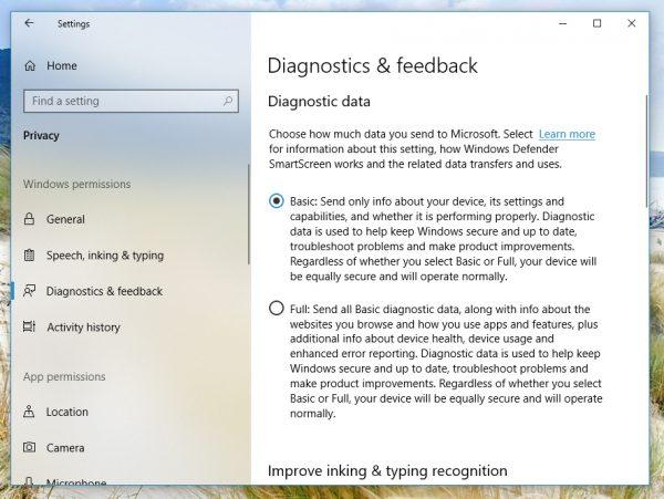微软改进Win10隐私仪表板 却让人感到更加困惑的照片