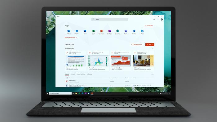 微软向Win10 Insider测试者推送新版Office应用程序的照片