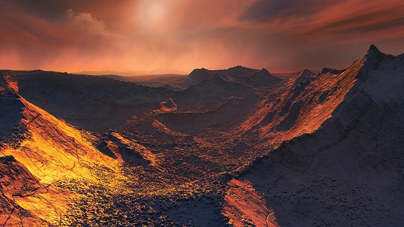 """6光年远""""超级地球""""或存在生命 质量是地球3倍的照片 - 1"""