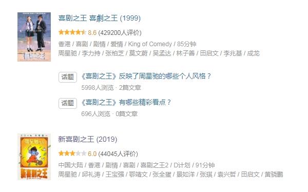 周星驰《新喜剧之王》豆瓣评分6.0 网友评论其炒冷饭的照片 - 4