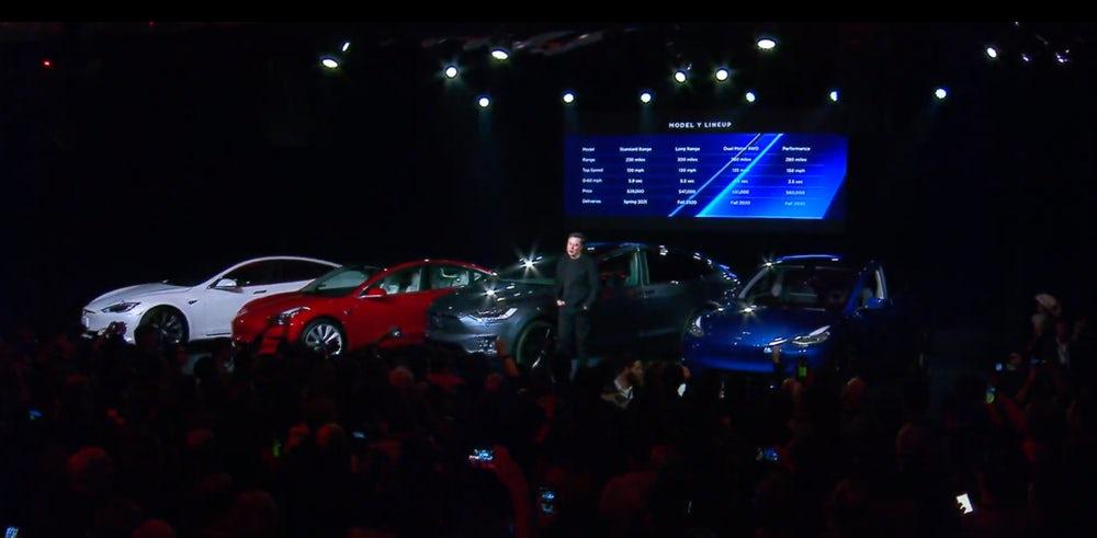 特斯拉今日发布入门级SUV Model Y:起价39000美元的照片 - 2