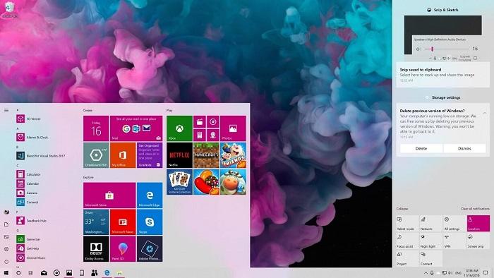 便捷通知管理:微软测试Win10 20H1行动中心的新功能的照片 - 1