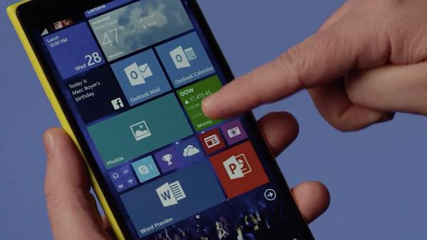 Windows 10 for Phone技术预览版体验图赏的照片 - 1